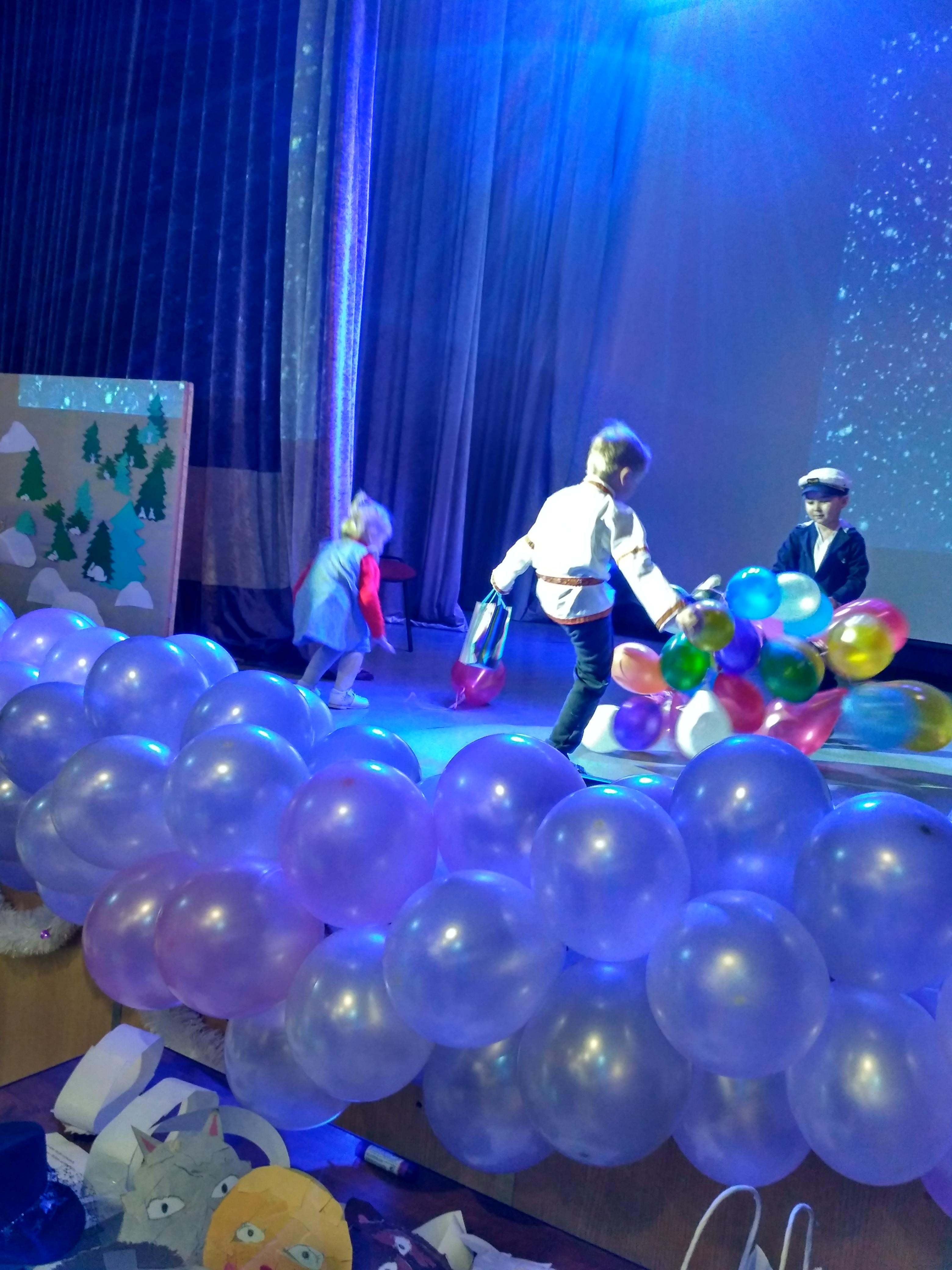 Новогоднее представление для дошкольников «В гостях у деда Мороза».