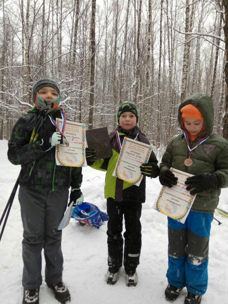 Соревнования по лыжным гонкам среди детей «Бибиревская лыжня» .