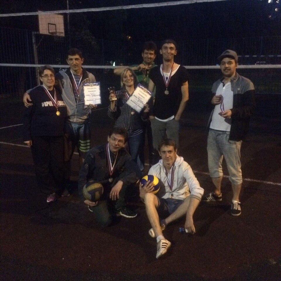 Открытый турнир по волейболу среди жителей.