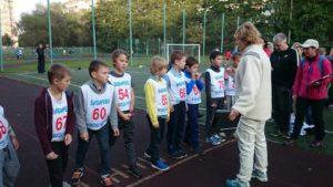 Районные соревнования по легкой атлетике среди детей.