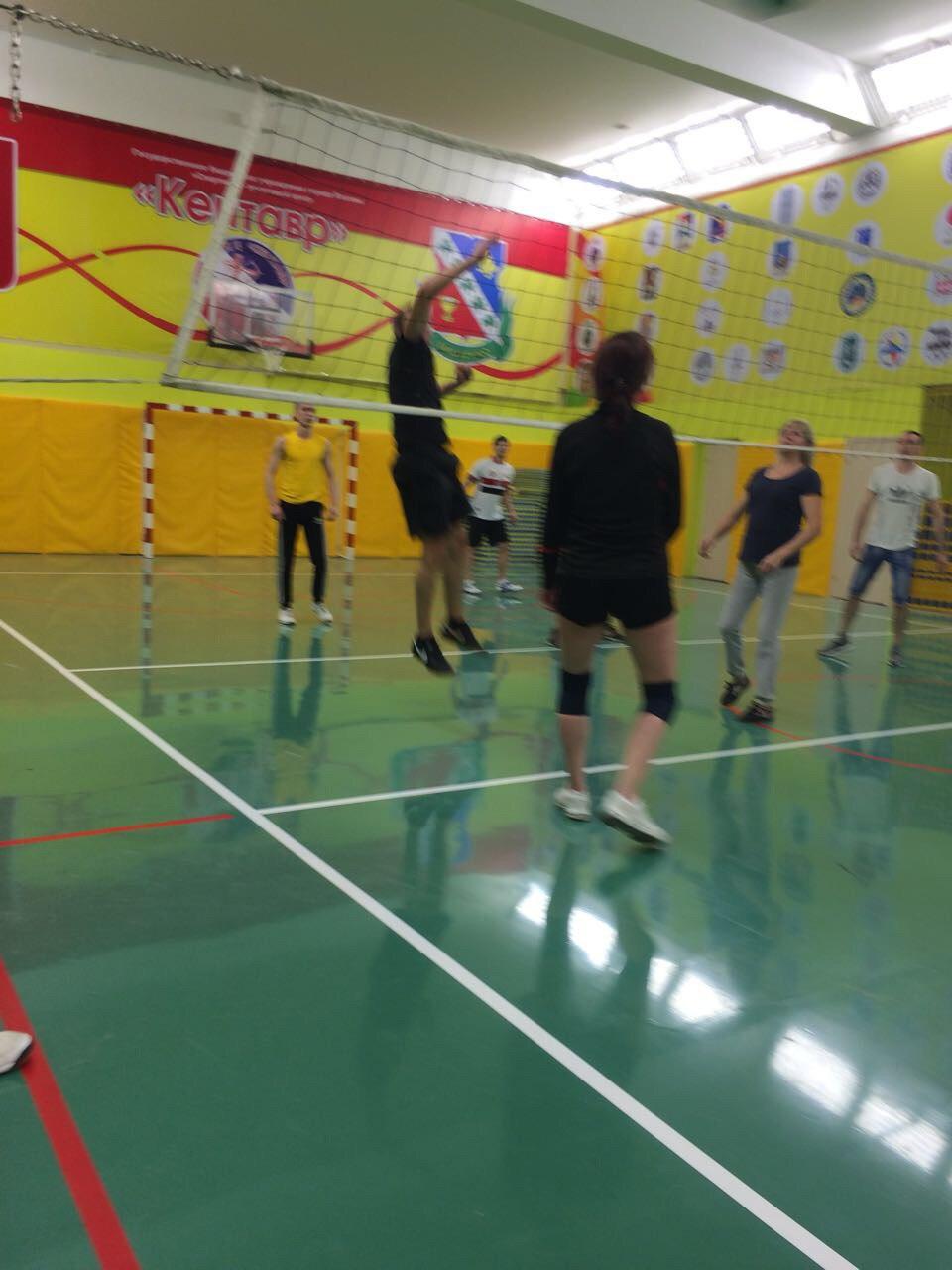 Открытый турнир по волейболу среди взрослых любительских команд. (19.11.2017)