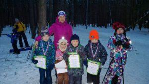 Соревнования по лыжным гонкам среди детей (13.03.2018)