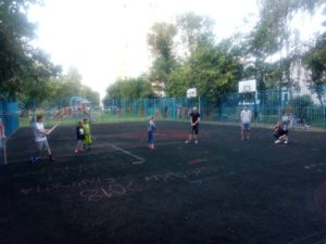 "Cоревнования по городошному спорту среди жителей района ""Бибирево"""