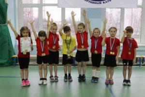Соревнования дошкольников по «Веселым стартам»