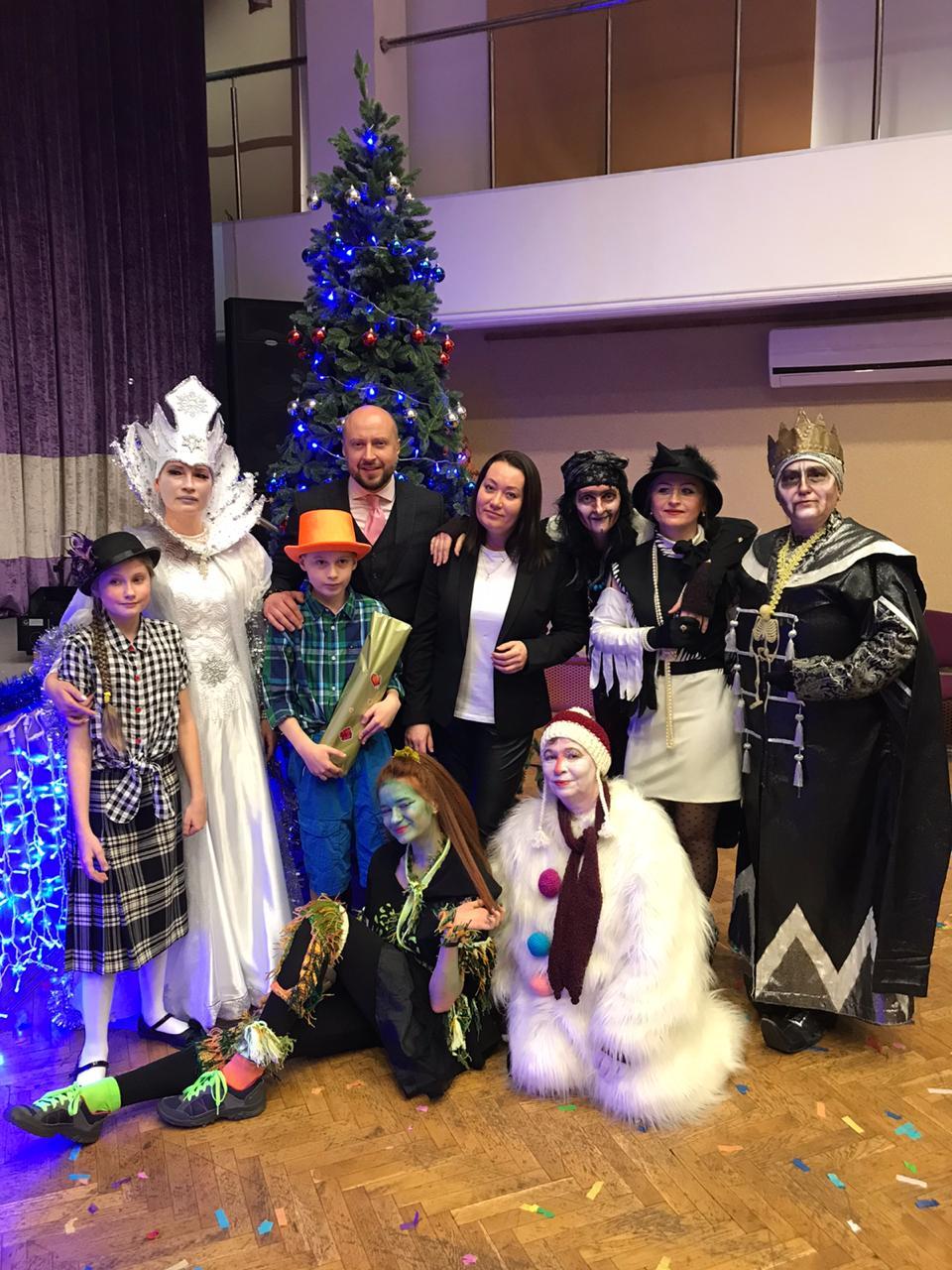 Новогодний мюзикл Волшебные часы
