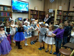 Новогоднее представление для дошкольников «Новогодняя сказка»