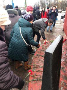 Памятная акция, посвященная Победе советских войск в Сталинградской битве