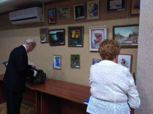 Выставка работ жителей Бибирево