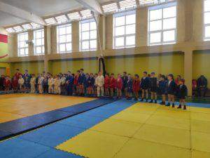 Открытый турнир по самбо среди детей